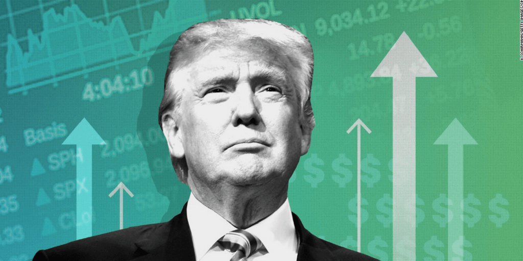 The market keeps rising, but not because of Trump